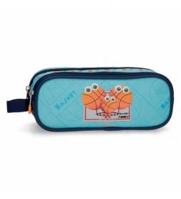 Estuche Enso Basket Family Dos Compartimentos -23x9x7cm-