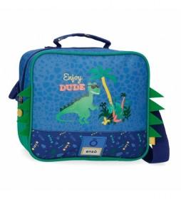 Neceser Enso Dino adaptable con bandolera -23x20x9cm-