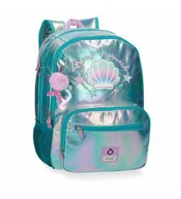 Mochila Enso Be a Mermaid Doble Compartimento -32x44x17cm-