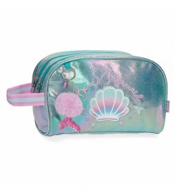 Neceser Enso Be a Mermaid Doble Compartimento -26x16x11cm-
