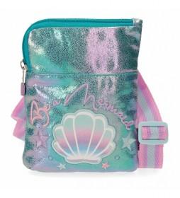 Bandolera Mini Enso Be a Mermaid -13x16,5x1,5cm-