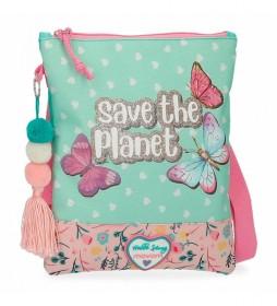 Bandolera Movom Save the Planet -20x24x0,5cm-