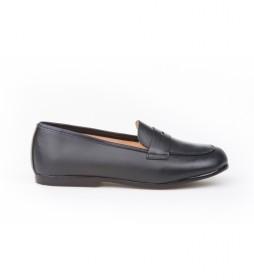 Zapatos/Mocasín de piel marino