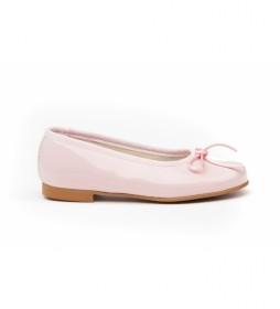 Manoletinas/Bailarina charol rosa