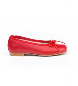 Manoletinas/Bailarina Napa rojo