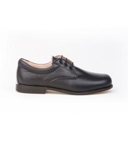 Zapato de Piel Blucher marino