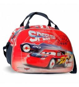 Bolsa de Viaje Cars Speed Trails rojo -40x28x22cm-
