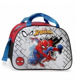 Bolsa de viaje 40cm Spiderman rojo -40x28x22cm-