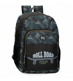 Mochila escolar Roll Road Team -33x46x17cm-
