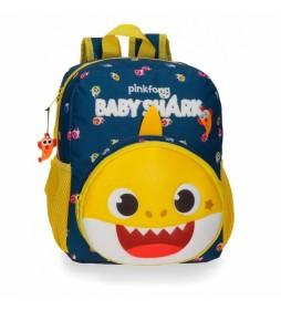 Mochila Baby Shark My Good Friend -23x28x10cm-