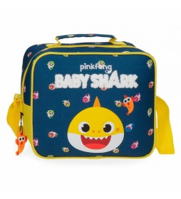 Neceser Baby Shark My Good Friend adaptable a trolley con bandolera -23x20x9cm-