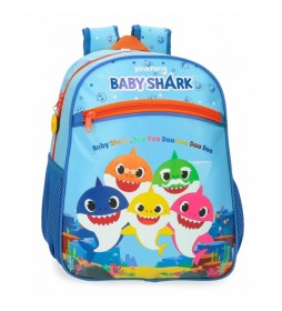 Mochila Baby Shark Adaptable -27x33x11cm-