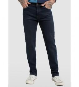 Jeans Denim Comfort Open Elastic azul