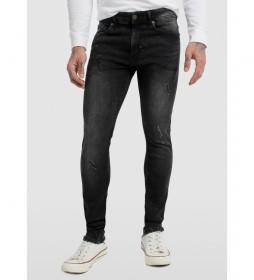 Jeans Denim Elastic negro