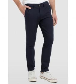 Pantalón Chino Estructura Cintura Elástica negro