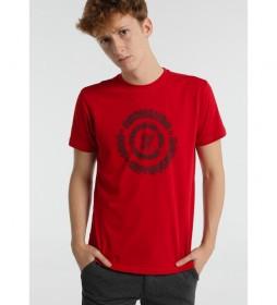 Camiseta Gráfica Círculo rojo
