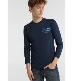 Camiseta Gráfica AD azul