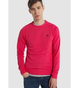 Jersey Básico Cuello Redondo Sapel Corfu rosa