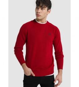 Jersey Básico Cuello Redondo Sapel Corfu rojo