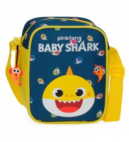 Bandolera Baby Shark My Good Friend -15x19x10cm-