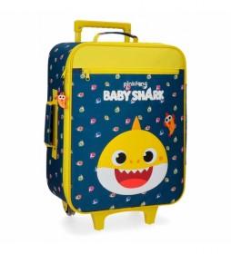 Maleta de cabina Baby Shark My Good Friend-35x50x18cm-