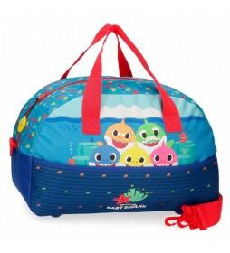Bolsa de viaje Baby Shark Happy Family -40x24x18cm-