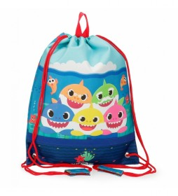Bolsa de Merienda Baby Shark Happy Family -27x34x0,5cm-