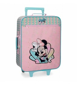 Maleta de cabina Minnie Mermaid 25L rosa -35x50x18cm-