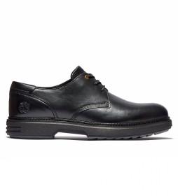 Zapatos de piel Oxford RR 4610 Derby negro