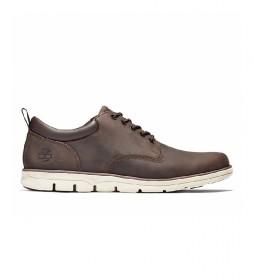 Zapatos de piel Oxford Bradstreet marrón oscuro