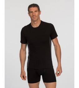 Camiseta de hombre con tecnología termorreguladora X-Temp Active negro