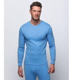 Camiseta termal celeste