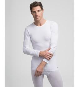 Camiseta interior  térmica blanco con tecnología Termaltech