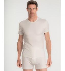 Camiseta Térmica Manga Corta blanco
