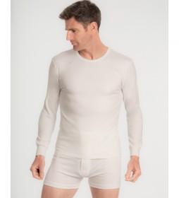 Camiseta Térmica Manga Larga blanco