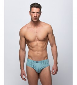Pack de 3 slips azul