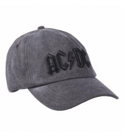 Gorra Premium Acdc gris