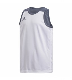 Camiseta 3G Spee REV JRS blanco, gris