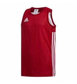 Camiseta 3G Spee REV JRS rojo, blanco