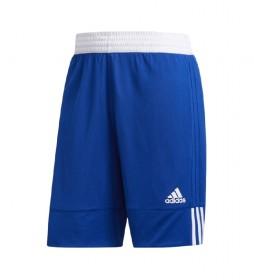 Shorts reversible 3G Speed azul, blanco