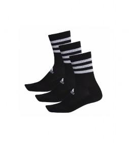 Pack de 3 calcetines 3S CSH CRW3P negro