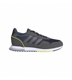 Zapatillas de piel Running 8K 2020 gris