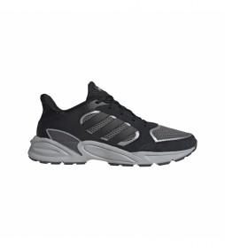Zapatillas de piel 90s Valasion negro