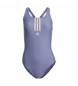 Bañador SH3.RO Mid 3-Stripes violeta