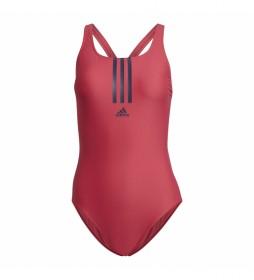 Bañador SH3.RO Mid 3-Stripes rosa