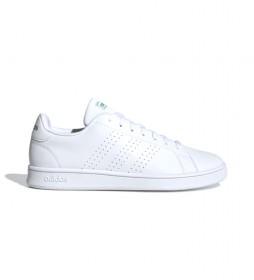 Zapatillas Advantage Base blanco, verde