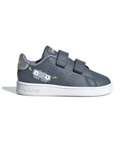 Zapatillas Advantage I gris