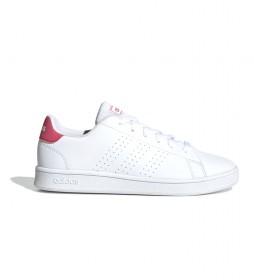 Zapatillas Advantage K blanco, rosa