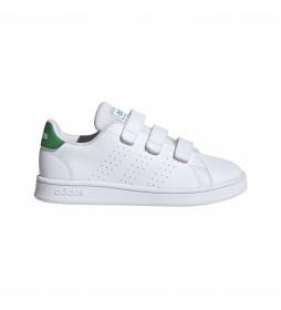 Zapatillas ADVANTAGE C blanco, verde