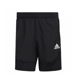 Shorts Aeroready Slim 3 Bandas negro